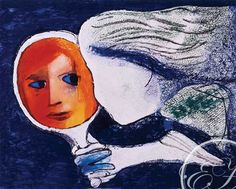 """""""Reflections"""" by Charles Blackman"""