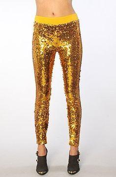 Blaque Label The Gilded Leggings in Gold Blaque Label. $61.95