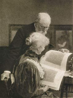 robert demachy   Photographer: Alma Lessing Title: Aufnahme von Frau Alma Lessing geb ...