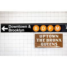 NYC Subway Wall Mural