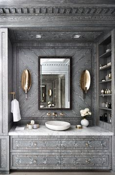 10 Best Golden Aesthetics for Your Bathroom Design_See More Inspiring Articles At: http://www.homedesignideas.eu/best-golden-aesthetics-bathroom-design/