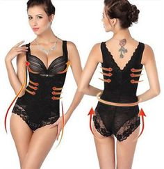 Burvogue Waist Control Corsets and Bustiers Sexy Women Overbust Plus Size  Corset Gothic Corselet Lace Up Body Shaper For Women 030e753fe