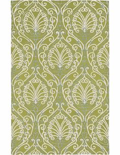 Candice Olson Ornate Green Rug