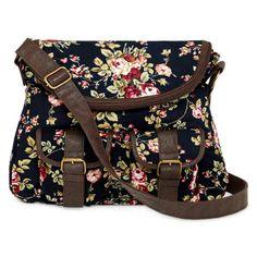 jcpenney - Olsenboye® Floral Corduroy Messenger Bag - jcpenney