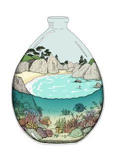 Terrarium Beach - Annie Davidson