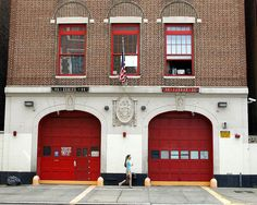 E095 FDNY Firehouse Engine 95 & Ladder 36, Inwood, New York City by jag9889, via Flickr shared by nyfirestore.com