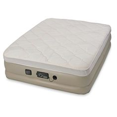 The Superior Inflatable Bed - Hammacher Schlemmer. $225 for queen. lifetime guarantee