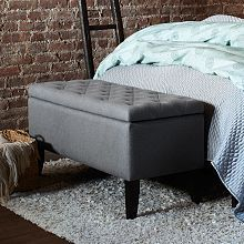 Upholstered Benches, Modern Benches & Living Room Benches   West Elm
