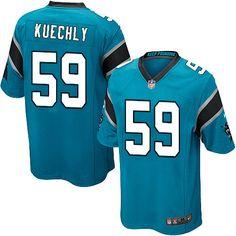 14821be6 Youth Nike NFL Carolina Panthers #59 Luke Kuechly Elite Alternate Blue  Jersey Nike Men,