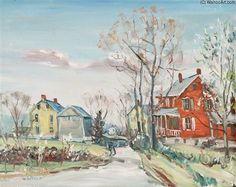 Main Street de Walter Emerson Baum (1884-1956, United States)