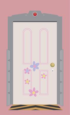 Boo's Door   Pixar's Monster's Inc.