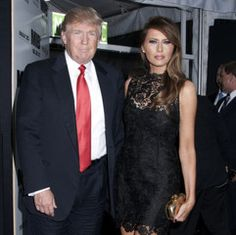 """I review TV shows on my blog http://premiumcablereviws.blogspot.com.  This picture of Donald Trump and his trophy wife illustrates my review of """"Real Time with Bill Maher"""", episode 282, May 10.2013,"""
