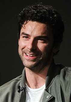 Actor Aidan Turner discusses his new show 'Poldark' at Apple Store Soho on June 18, 2015 in New York City.