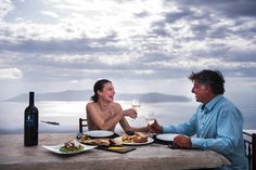 Luxury Suites Santorini combines a world of beauty and tradition! Imerovigli Santorini, Luxury Living, Eating Well, In This Moment, Drink, Life, Food, Luxury Life, Beverage