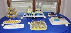 Despicable Movie Night: minion-dessert-table-