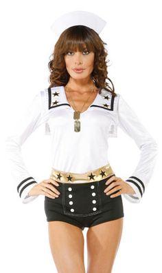 . Sailor's Dream Pinup Girl Halloween Costume
