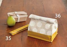 紙袋のような おしゃれ&かわいいお弁当袋の作り方(布小物) | ぬくもり Sewing Patterns Free, Free Pattern, Couture Sewing, Miniature Food, Cool Baby Stuff, Handicraft, Diy And Crafts, Sewing Projects, Pouch