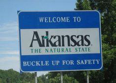 Arkansas - spring break vacation was tons of fun!!