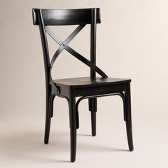 Cost Plus World Market Black French Bistro Side Chairs, Set of 2