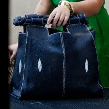 A Jean bag. Classic and fabulous!