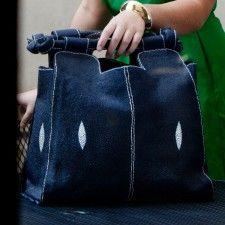 A Jean bag. Classic.