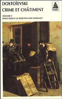 Dostoievski, Crime et châtiment, Tome 1 et 2 (BUY)