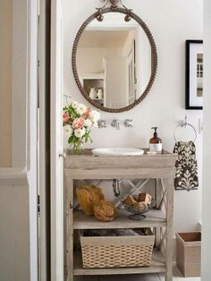 for the powder room