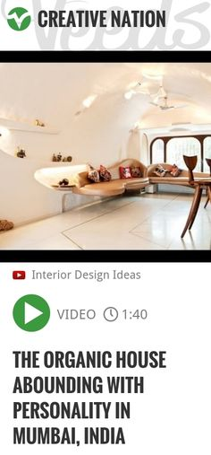 The Organic House Abounding With Personality in Mumbai, India | http://veeds.com/i/IDYZZVQuFKRRHf4o/creativenation/