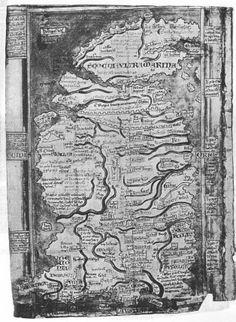 1 MATTEUS PARISIENSIS - Gran Bretagna. (1250 circa) (Brincken 1992, tav. 35)