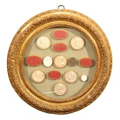18th Century Wax Seals - Intaglios. See more here: http://pinterest.com/pin/278589926920799923/