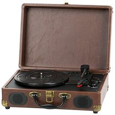 Buy QFX TURN-101 Retro Collection Suitcase Turntable - Topvintagestyle.com ✓ FREE DELIVERY possible on eligible purchases