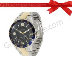 Rs.9,995.00 / $179.91 Shipping Charges Free Shipping To India(IND) Product Details  Brand: Tommy Hilfiger Model:  TH1790839 Dial Color: Black Dial Shape: Round Strap Color:Siver and Golden Strap Meterial:Stainless Steel Water Resistance: Yes Warranty: 2 Years International Warranty. http://www.giftsomeone.com/watch-men-tm-ft02/product_info.php/products_id/3532