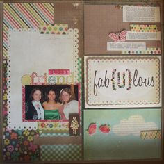 Simple Stories Layout by Design Team Member Andrea Ancich