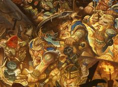 Beorne and Bolg at the Battle of Five Armies — Gallery Gerard