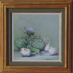 Artischocken mit Knoblauch 30 x 30