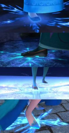 How Elsa uses her powers throughout the movie. By Ella E.