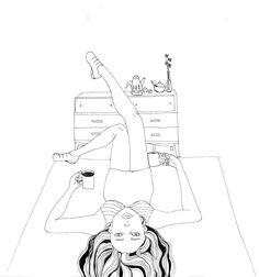 Nescafe Alegria -competition-illustration