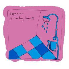 Courtney Barnett's illustrations