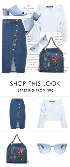 """Untitled #4778"" by julinka111 ❤ liked on Polyvore featuring Madewell, Jacquemus, STELLA McCARTNEY and Ralph Lauren"