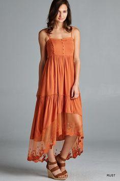 Olivia High-Low Dress