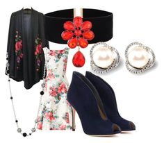 """""""Untitled #856"""" by bellagioia ❤ liked on Polyvore featuring Phase Eight, Gianvito Rossi and John Hardy"""