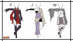 Naruto Adoptable Outfit Set 4 - Closed by Orangenbluete.deviantart.com on @DeviantArt