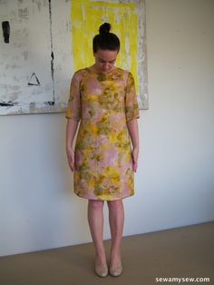 Laurel from Colette Patterns in synthetic mix