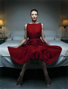 Cate Blanchett by Robert Maxwell