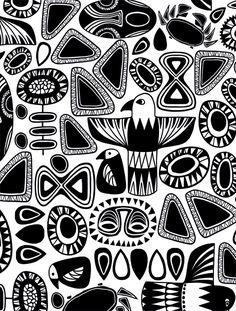 Totem black/white