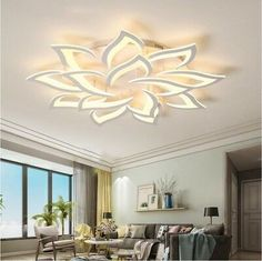 2018 New LED Chandelier Living Room Bedroom Home Modern Ceiling Lamp Fixtures   eBay