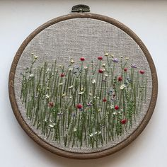 Wild flowers #embroidery #embroideryart #flowerembroidery #needlework #embroideredflowers #handembroidery #contemporaryembroidery #wildflowers