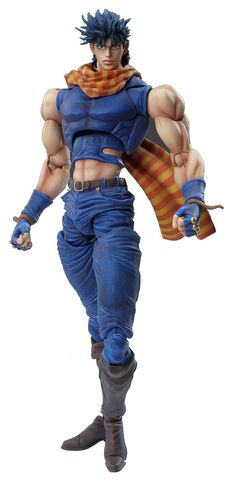 Amazon.com: Medicos JoJo's Bizarre Adventure: Part 2--Battle Tendency: Joseph Joestar Super Action Statue (Released): Toys & Games