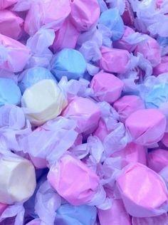 pastel salt water taffy