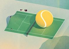 Tennis on Behance